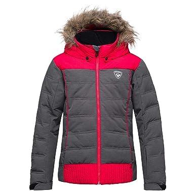 ceeb3e9b8 Amazon.com  Rossignol Girl BB Polydown Heather Insulated Ski Jacket ...