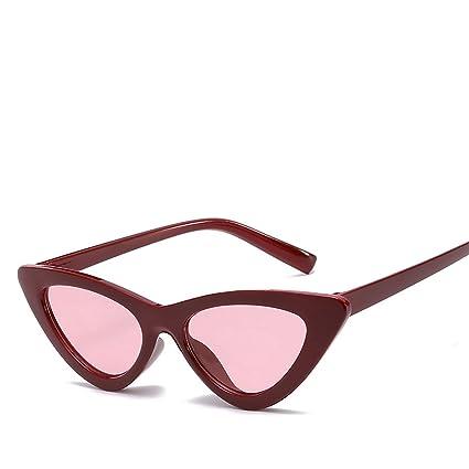 HCIUUI Triángulo gafas de sol de Europa y los Estados Unidos tendencia gafas de sol señoras
