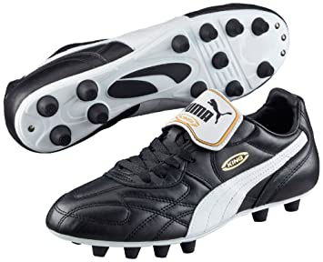a61952232a6 Puma King Top Di FG Football Boots Leather Upper Soccer Sports Shoes ...