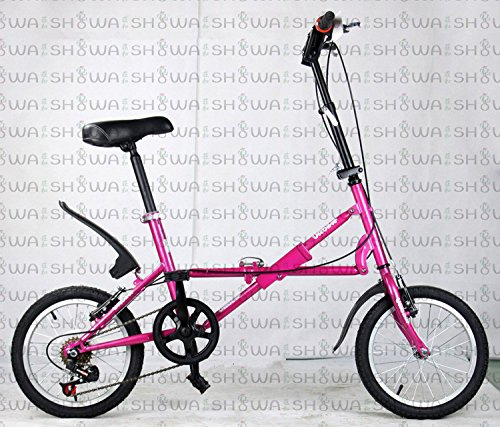 キッズ.ジュニアサイクル 折畳自転車 12インチ  サイクリング ピクニック 遠足 B00QA16XSG ピンク ピンク