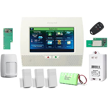 Honeywell Lynx Touch L7000 Wireless Residential/Commercial Security Alarm Kit with Wifi and Zwave Module
