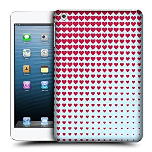 Head Case Designs Heart Halftones Hard Back Case Cover for Apple iPad mini