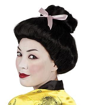 Boland 86384 Adultos Peluca Geisha, One Size: Amazon.es: Juguetes y ...
