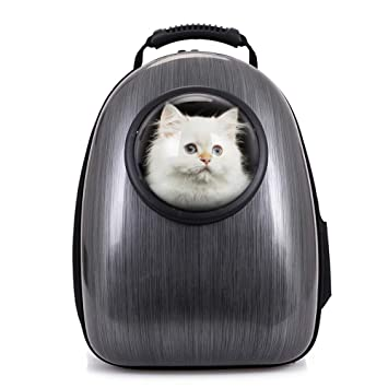 Bubble Cat Carriers Bag Breathable Waterproof Puppy Backpack Airline