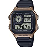 Casio Men's 10-Year Battery Japanese Quartz...