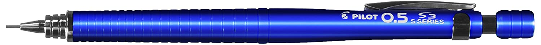 8.パイロット シャープペンシル S3(エススリー)0.5mm 透明ブルー