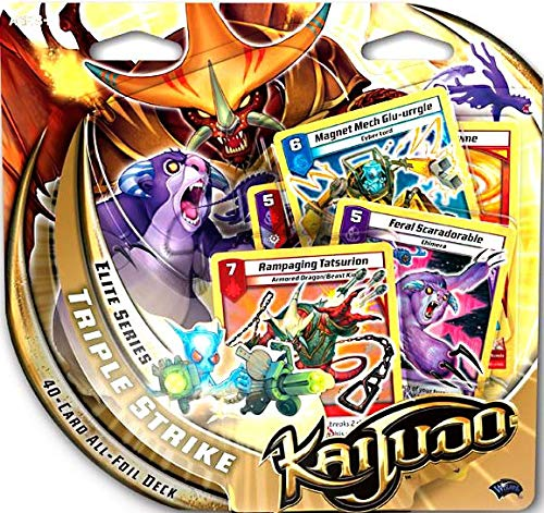 Kaijudo Trading Card Game Elite Series Triple Strike for sale  Delivered anywhere in USA