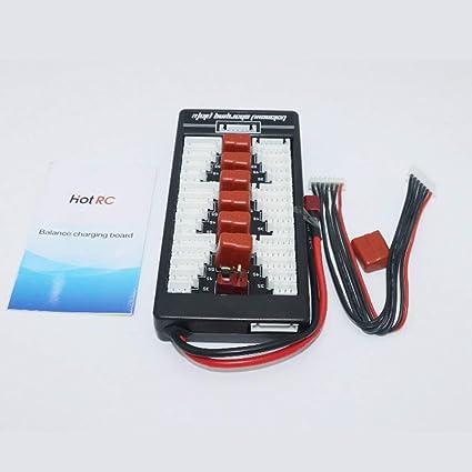 Amazon.es: Kaemma HotRc T 2S-6S Plug Lipo Batería Placa de ...