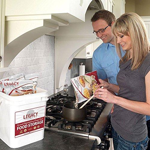 Long Term Gluten Free Food Servings - lbs Emergency - Disaster 25 Year Life -
