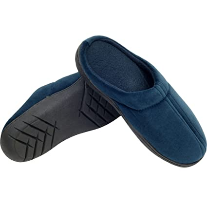 0a873f42b27 Amazon.com  Remedy Memory Medium Foam Slippers  Home   Kitchen