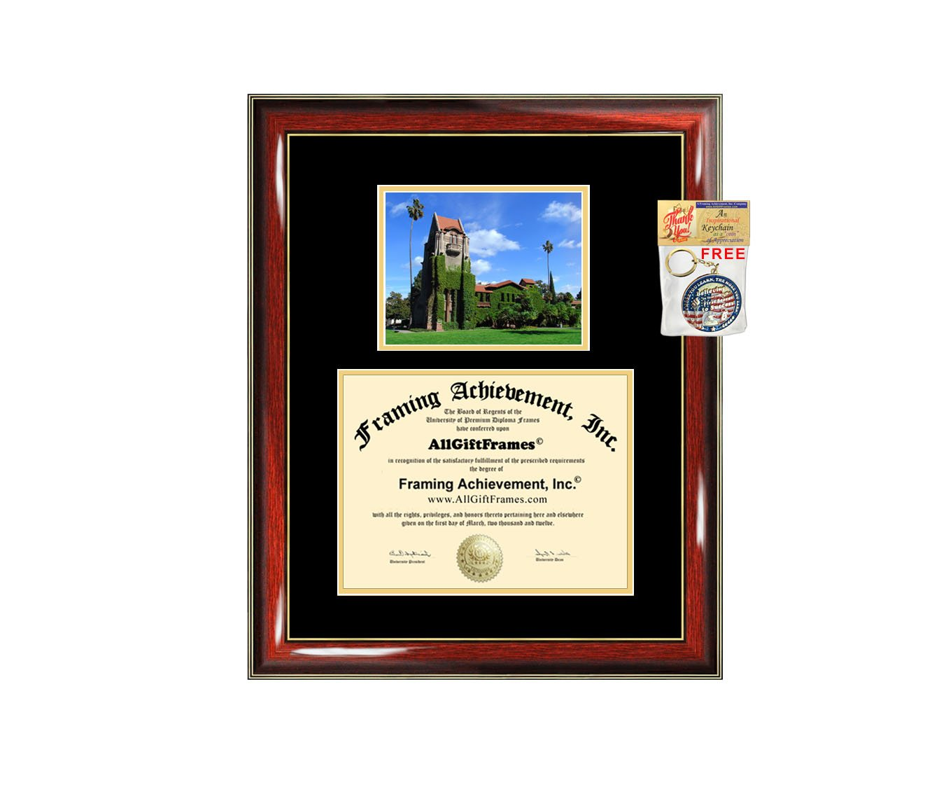 San Jose State University Diploma Frame SJSU Graduation Degree Frames Double Matted Campus College Photo Graduation Certificate Plaque University Framing Certification Graduate Gift Collegiate