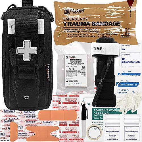 🥇 Falcon Medi-Tac EveryDay Carry Trauma Kit EDC IFAK Easy Carry Lightweight