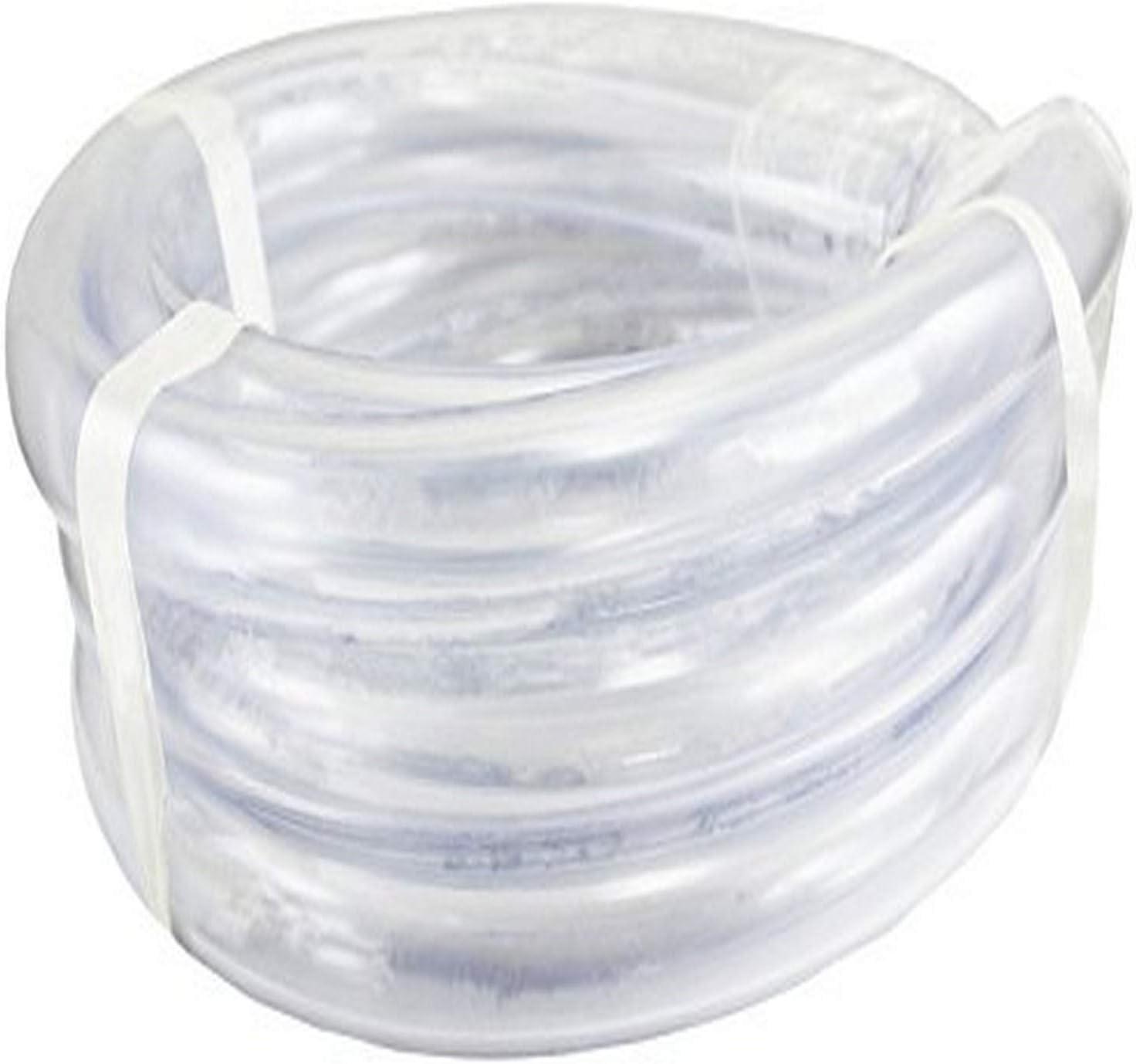 Duda Energy LPpvc125-010ft 10' x 1-1/4 ID Low Pressure Clear Flexible PVC Tubing Heavy Duty UV Chemical Resistant Vinyl Hose