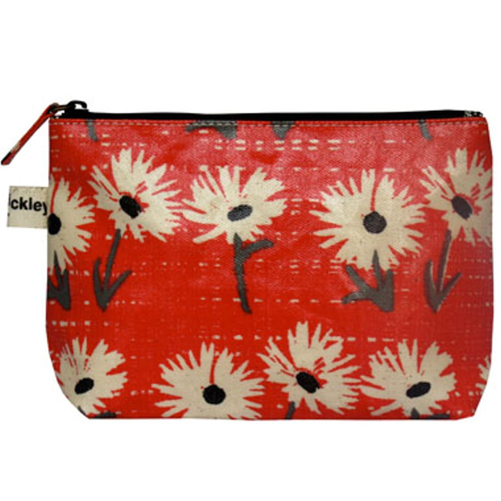 5b7324a5f0 Lisa Stickley Valerie Make Up Bag - Fig Daisy Pillar Box Red  Amazon.co.uk   Shoes   Bags