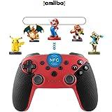 【最新版】【NFC機能とジャイロセンサー搭載】Bluetooth スイッチ コントローラー Coomatec スイッチ コントローラー・ Switch 用 Pro コントローラー ジャイロ/HD振動/連射/