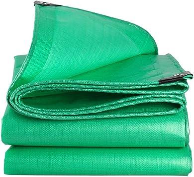 Waterproof Cloth Home Lona Impermeable de Tela Impermeable, colchoneta para Acampar, Lona para Camiones, Parasol Exterior, a Prueba de Viento, anticorrosión, anticongelante, Verde: Amazon.es: Hogar