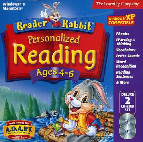 Reader Rabbit Reading Ages 4-6  [OLD VERSION] by Riverdeep - Learning company