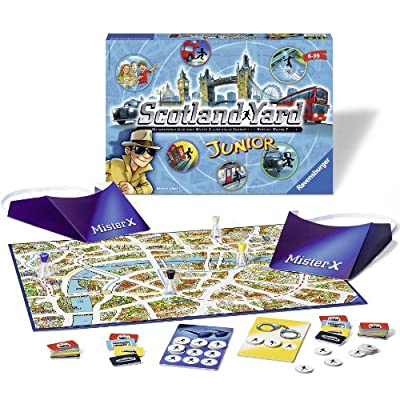Ravensburger Scotland Yd Junior for Ages 6 & Up - A Cooperative Mysterious Clue-Solving Children's Board Game: Toys & Games