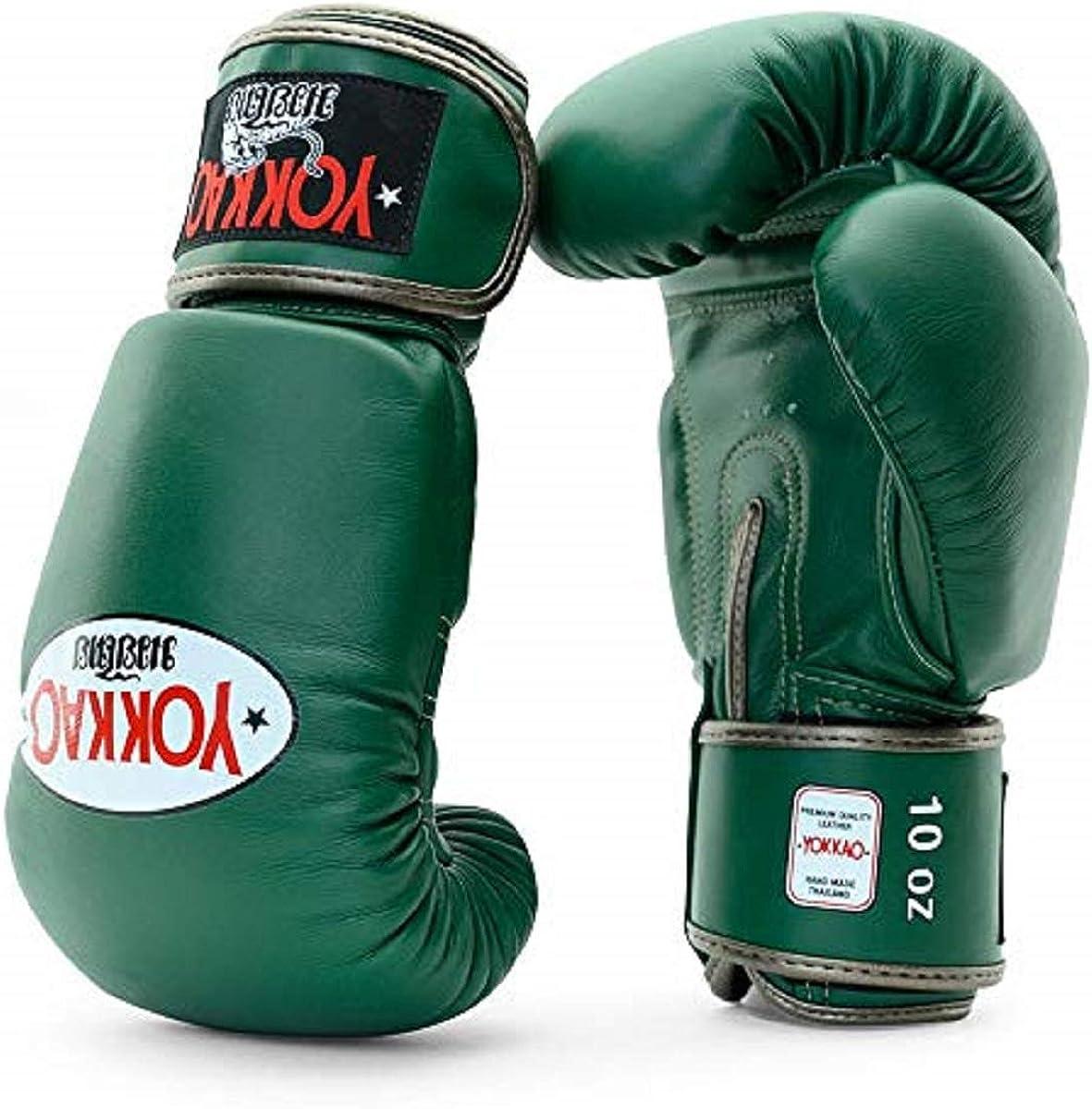 10oz Petroleum White Yellow 14oz Yokkao Matrix Breathable Muay Thai Boxing Glove Grey Green 16oz Gloves/… Black 8oz 12oz Blue Red