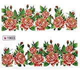 1 Sheet Fanciness Flowers Easy Attach Water Transfer Manicure Tips Popular Nail Art Stickers Color Code41