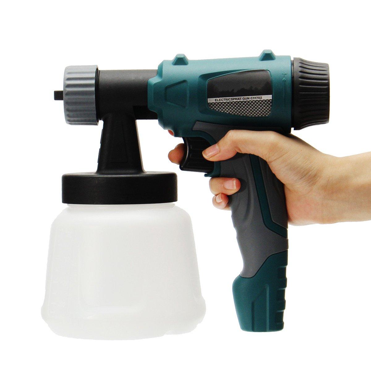 800W 900ML Electric Painter Gun Spray Latex Paint Sprayer House Painting Machine by Ologymart (Image #1)