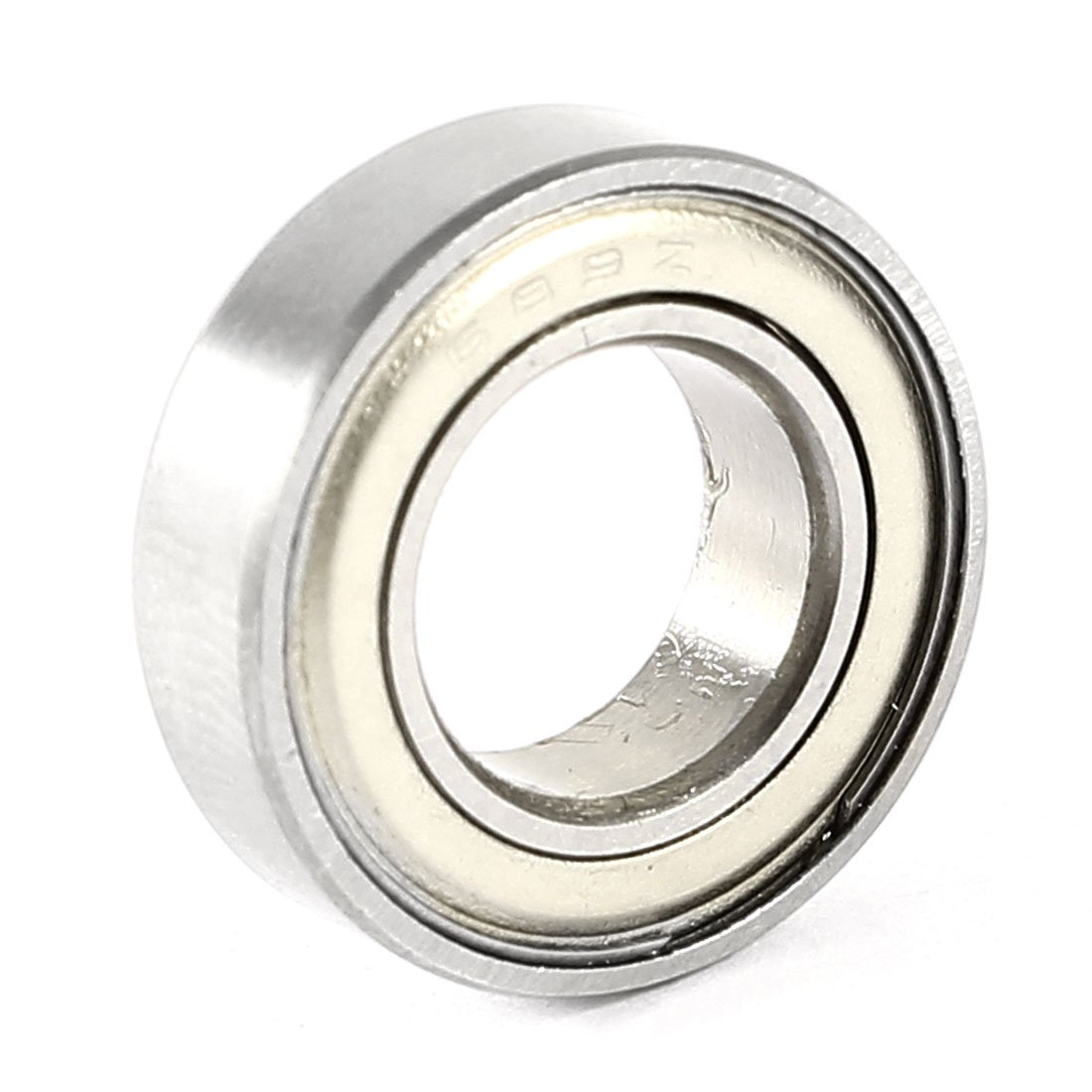 Uxcell a14030500ux0260 9mmx17mmx5mm Sealed Single Row Deep Groove Ball Wheel Bearing 689Z, 0.35 Metal