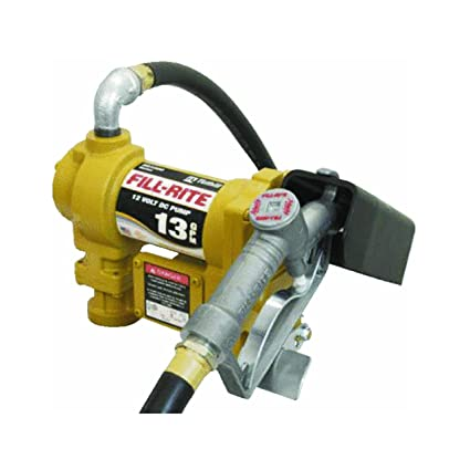 Tuthill Transfer System SD1202 12V DC Pump With Nozzle