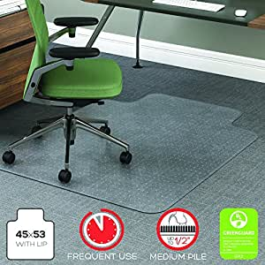 Amazon Com Deflecto Cm15113 Rollamat Frequent Use Chair