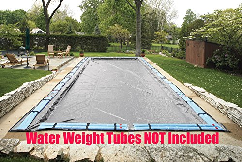 (Arctic Armor Gorilla 16 Ft x 32 Ft Rectangle Winter Protective Inground Solid Pool Cover 20 Year Warranty)