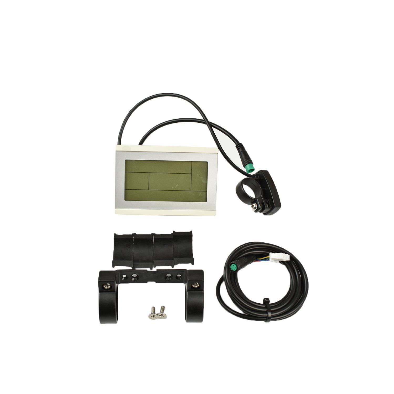 pswpower ebike 24/V 36/V 48/V inteligente kt-lcd LCD3/blanco pantalla de panel de control el/éctrico para bicicleta partes KT controlador