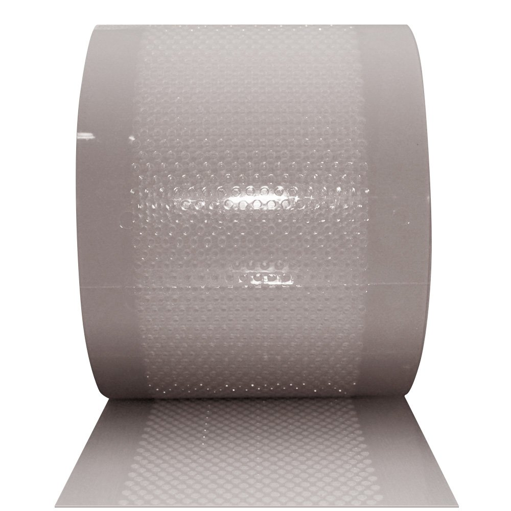 Aleco 175100 Clear-Flex II PVC Standard AirStream Strip Door Bulk Roll, 150' Length x 8'' Width x 0.08'' Thick, Clear