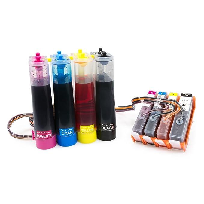 Amazon.com: Sistema de suministro de tinta continua para HP ...