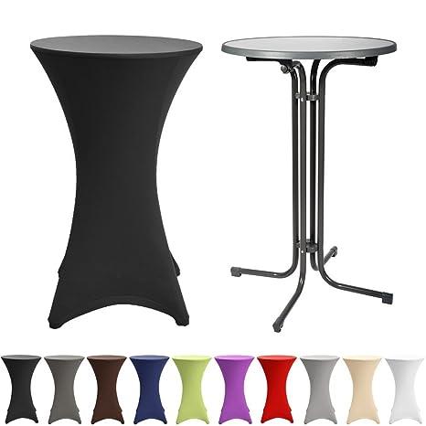 Tavolo alto da bar richiudibile grigio - Bellini W60110 - Ø 60x110cm ...