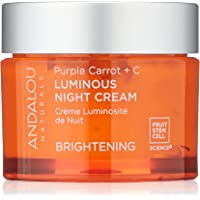 Andalou Naturals Purple Carrot + C Luminous Night Cream, 1.7 Oz