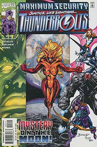 Thunderbolts #45 FN ; Marvel comic book