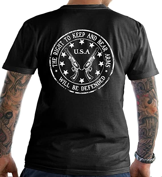 Sons Of Liberty The Right to Keep and Bear Arms Made in USA T-Shirt