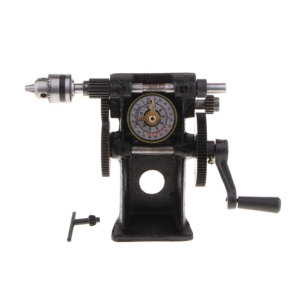Diy Craft Supplies - Premium Manual Coil Winder Hand Winding Machine Nz 5 Counting Counter 0 99999 Rings - Supplies Craft Adults Kids Craft Supplies Coil Winder Winding Machine Reel Aluminu by Unknown (Image #2)