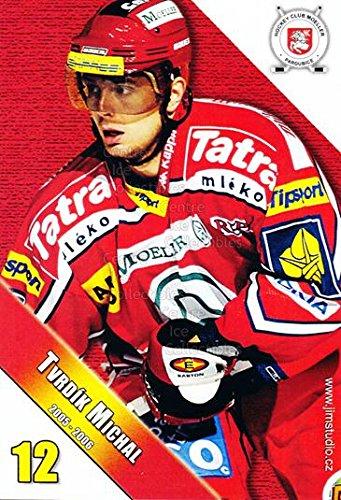 fan products of (CI) Michal Tvrdik Hockey Card 2005-06 Czech HC Pardubice Postcards 16 Michal Tvrdik