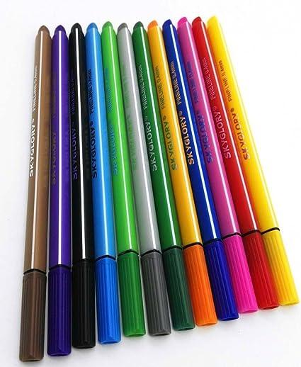 Amazon com : SkyGlory Fineliner Pen, 12pcs Color Set, 0 4
