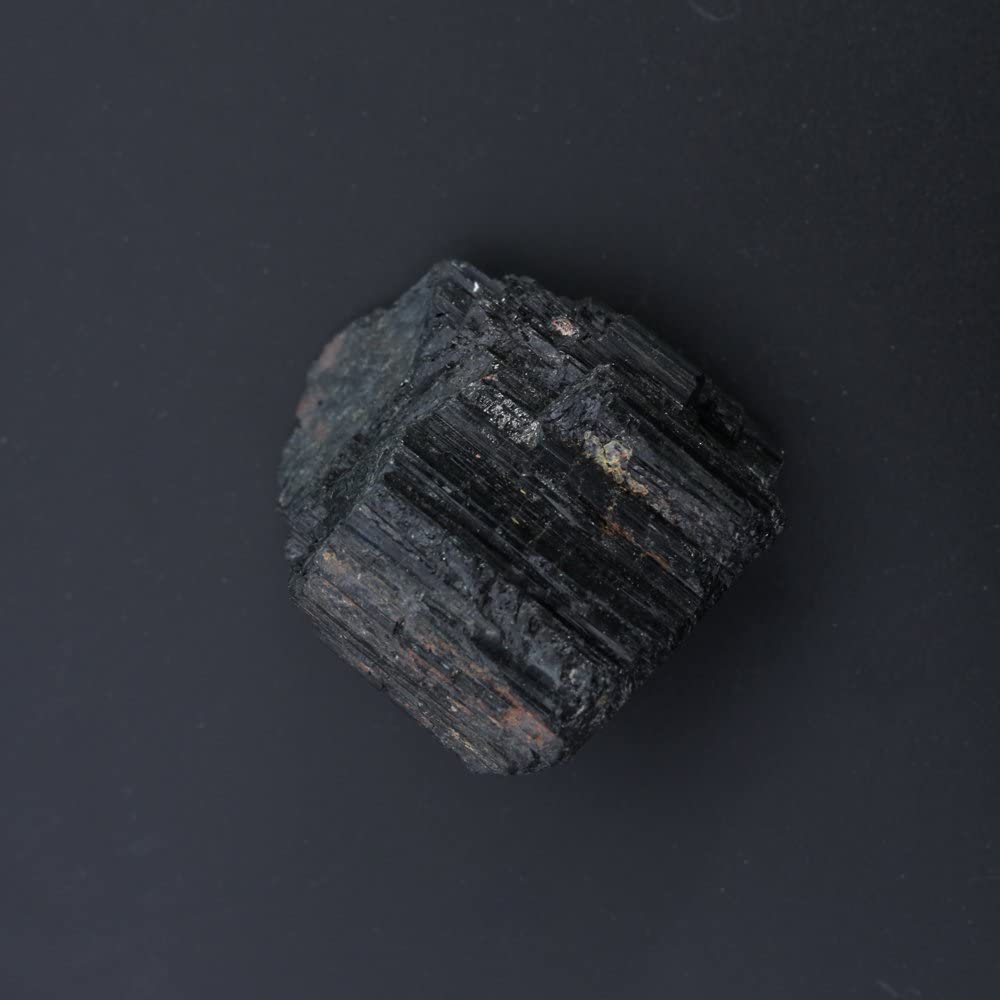 Large Large Raw Natural Stones for Reiki Healing HongJinTian Natural Rock Black Tourmaline Crystals Stone 1.73Inches