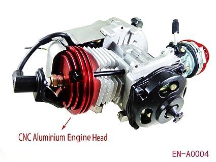 High Performance Engine Motor for 47cc 49cc 2 Stroke Pockt Mini Bike  Scooter ATV