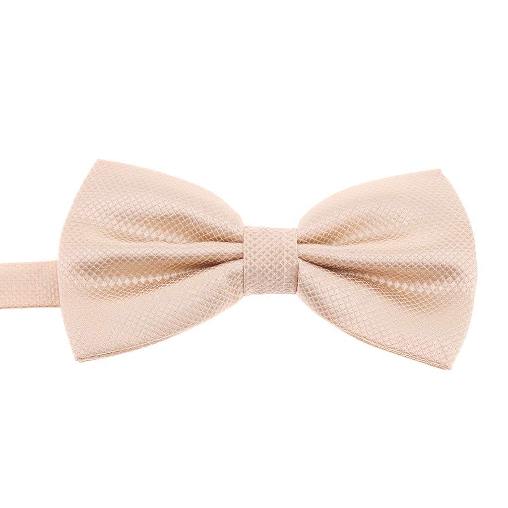 Fityle Mens Wedding Party Pre-tied Bowtie Tuxedo Bow Ties