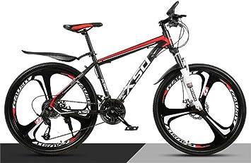 WJSW Bicicleta de montaña para Hombre 26 Pulgadas Off-Road ...