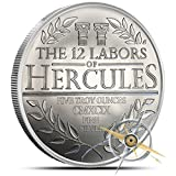 5 Oz Silver Hercules | the 12 Labors of Hercules