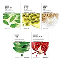 The Face Shop Unisex Real Nature Bestseller Combo (Pack of 5)
