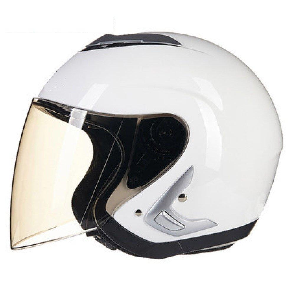 RAQ Sturzhelm im Freienart- und weisehelm ABS-Leichtgewichtler-Motorrad-Fahrrad-Sturzhelm-Sonnenschutzsicherheitsatmungsaktiver vierjahreszeiten-Sturzhelm (Farbe   C, größe   XXL(61-62CM))