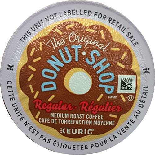 Keurig, The Original Donut Shop, Medium Roast Coffee, K-Cup Counts, 50 Count (Coffee K Bulk Cup)