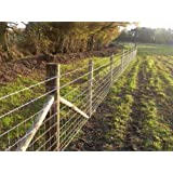 50m of C8/80/15 Stock Fencing for Farms / Cattle / Sheep / Pigs