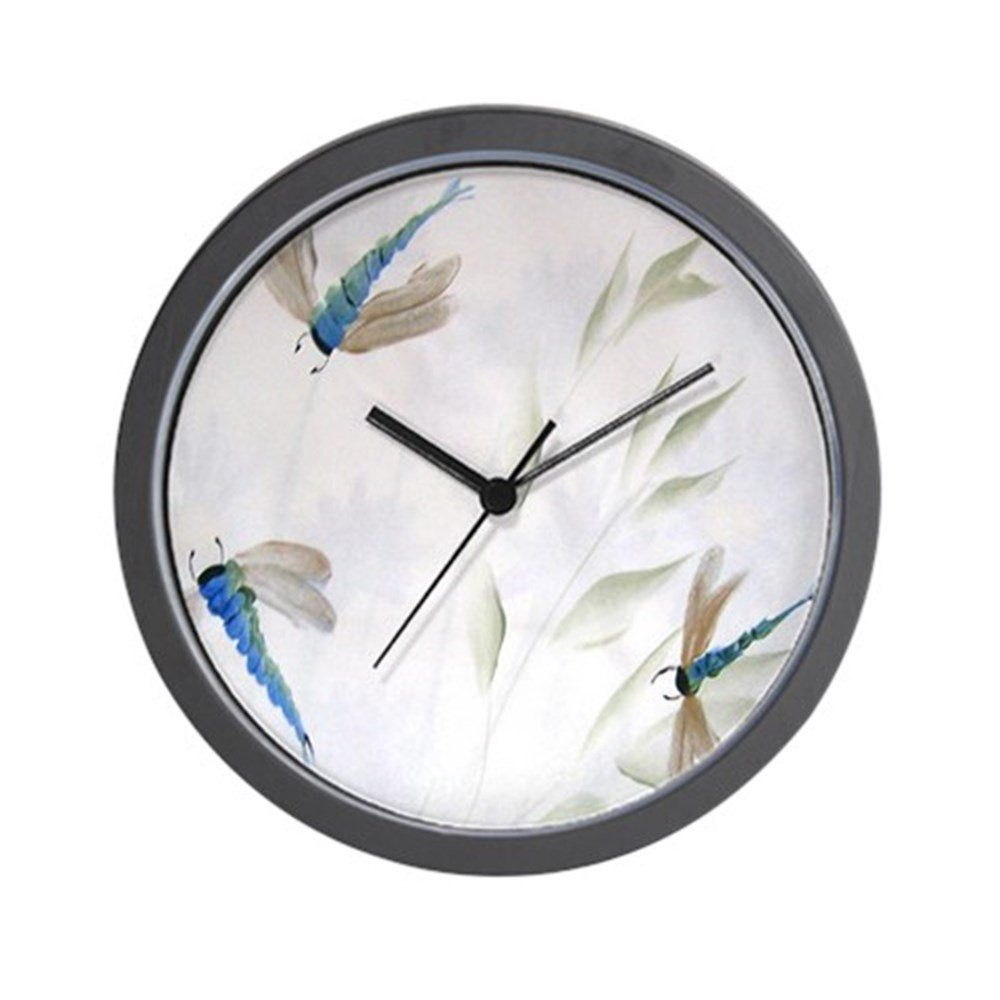 CafePress - ''Dragonfly Dance'' Wall Clock - Unique Decorative 10'' Wall Clock