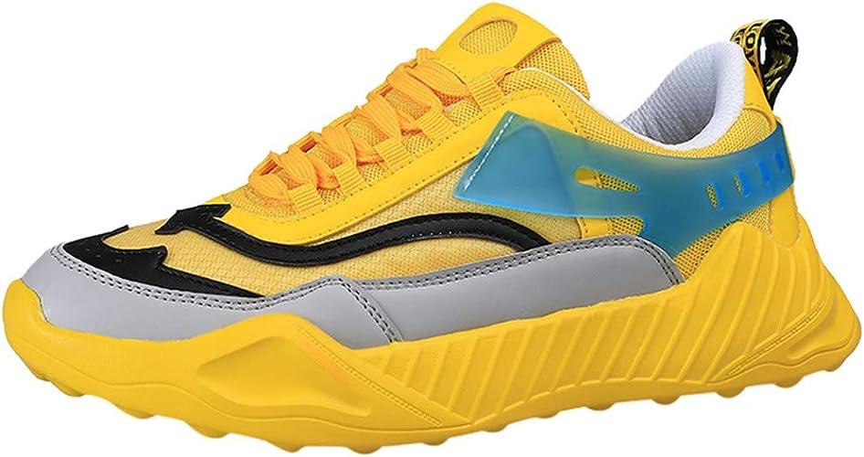Zapatillas Deporte Hombre,DUJIE Zapatos Zapatos para Correr Athletic Cordones Zapatillas de Deporte Respirable para Correr Deportes Zapatos Running Hombre Zapatillas: Amazon.es: Zapatos y complementos